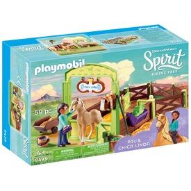 Playmobil Pru és Chica Linda 9479