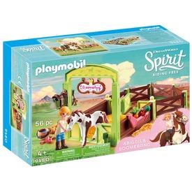 Playmobil Abigail és Boomerang 9480