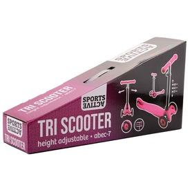 Háromkerekű roller - rózsaszín, 68 cm