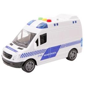 Lendkerekes mentőautó