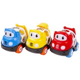 Csörgő autó bébijáték - 10 cm, többféle
