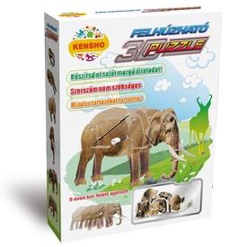 Elefánt felhúzós 3D puzzle Itt egy ajánlat található, a bővebben gombra kattintva, további információkat talál a termékről.