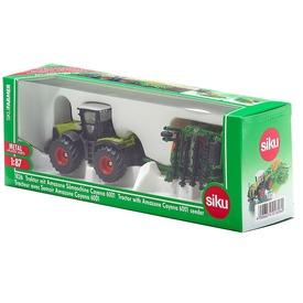 SIKU Claas Xerion traktor vetőgéppel 1:87 - 1826