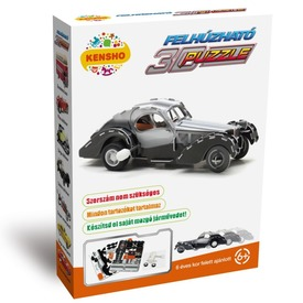 Oldtimer szürke autó felhúzós 3D puzzle Itt egy ajánlat található, a bővebben gombra kattintva, további információkat talál a termékről.