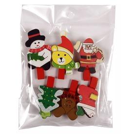 Karácsonyi csipesz 6 darabos készlet Itt egy ajánlat található, a bővebben gombra kattintva, további információkat talál a termékről.