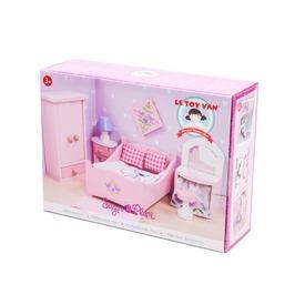 Le Toy Van: Hálószoba fa bababútor készlet Itt egy ajánlat található, a bővebben gombra kattintva, további információkat talál a termékről.