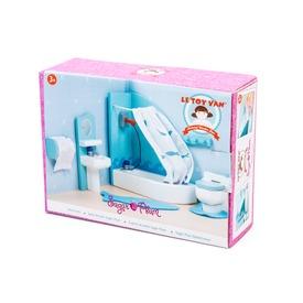 Le Toy Van: Fürdőszoba fa bababútor készlet Itt egy ajánlat található, a bővebben gombra kattintva, további információkat talál a termékről.