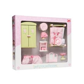 Le Toy Van: Rózsabimbó hálószoba fa bababútor készlet Itt egy ajánlat található, a bővebben gombra kattintva, további információkat talál a termékről.