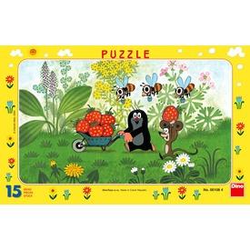 Kisvakond útra kel 15 darabos puzzle Itt egy ajánlat található, a bővebben gombra kattintva, további információkat talál a termékről.