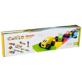 Fa autópálya kisautókkal készlet