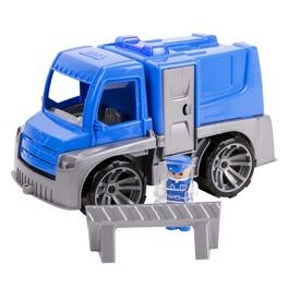 Műanyag rendőr teherautó - 28 cm