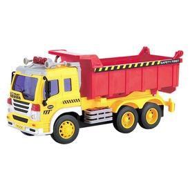Dömper teherautó fénnyel és hanggal - 1:16 Itt egy ajánlat található, a bővebben gombra kattintva, további információkat talál a termékről.