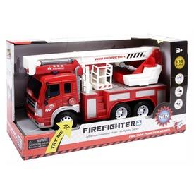 Létrás tűzoltóautó fénnyel és hanggal - 1:16 Itt egy ajánlat található, a bővebben gombra kattintva, további információkat talál a termékről.