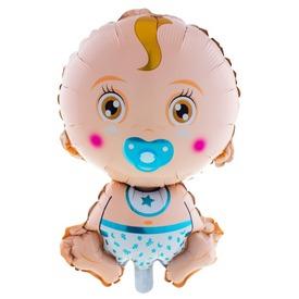 Baby Boy fólia lufi - 68cm
