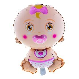 Baby Girl fólia lufi - 81 cm