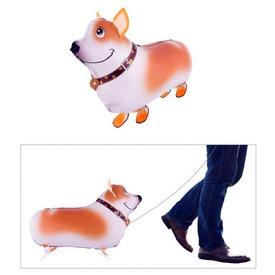 Sétáló kutya fólia lufi - 59 cm