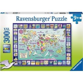 Rajzos világtérkép 300 darabos XXL puzzle Itt egy ajánlat található, a bővebben gombra kattintva, további információkat talál a termékről.