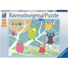 Puzzle 500 db - Színes baglyok Itt egy ajánlat található, a bővebben gombra kattintva, további információkat talál a termékről.