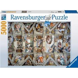A Sixtus-i kápolna 5000 darabos puzzle Itt egy ajánlat található, a bővebben gombra kattintva, további információkat talál a termékről.