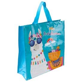 Láma bevásároló táska - 40 x 15 x 40 cm