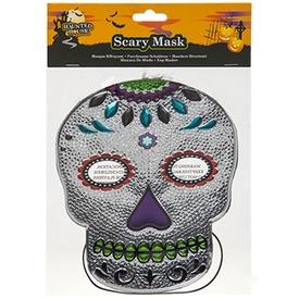 Csillogó koponya maszk - többféle