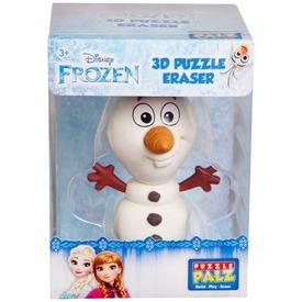 Jégvarázs Olaf puzzle radírfigura - 10 cm