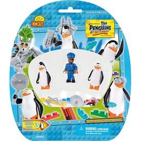 Madagaszkár pingvinjei 3 darabos figura készlet - többféle