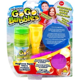 GoGo megfogható buborékok készlet - többféle