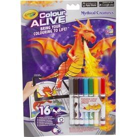Crayola: sárkányok és kastélyok kifestő füzet filctollakkal Itt egy ajánlat található, a bővebben gombra kattintva, további információkat talál a termékről.