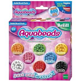 Aqua Beads utántöltő készlet - színes gyöngyök