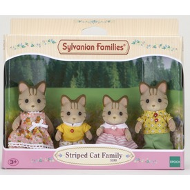 Sylvanian Families Csíkos cica család 5180 Itt egy ajánlat található, a bővebben gombra kattintva, további információkat talál a termékről.
