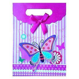 Lepkés papír ajándéktasak - pici, többféle Itt egy ajánlat található, a bővebben gombra kattintva, további információkat talál a termékről.