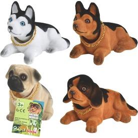 Bólogató kutya figura - 15 cm, többféle Itt egy ajánlat található, a bővebben gombra kattintva, további információkat talál a termékről.
