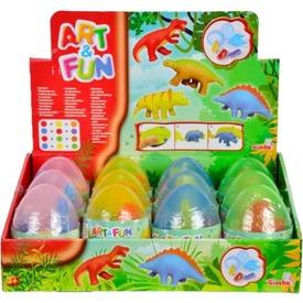 Art and Fun dínó tojás gyurmakészlet - többféle
