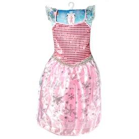 Jéghercegnő jelmez - rózsaszín, 3-7 éves
