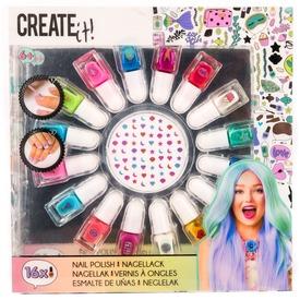 Create It körömlakk 16 darabos készlet