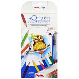 Pentel akvarell színesceruza víztartályos ecsettel