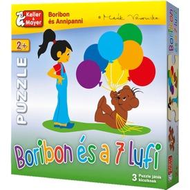 Boribon és a 7 lufi puzzle Itt egy ajánlat található, a bővebben gombra kattintva, további információkat talál a termékről.
