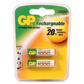 GP Ni-MH tölthető AAA ceruzaelem 1000 mAh 2 darabos készlet Itt egy ajánlat található, a bővebben gombra kattintva, további információkat talál a termékről.