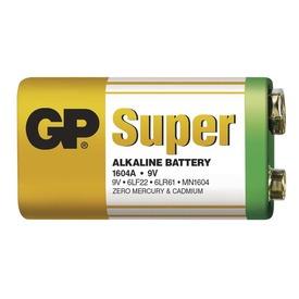 GP Super Alkaline 9V elem Itt egy ajánlat található, a bővebben gombra kattintva, további információkat talál a termékről.
