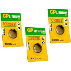 GP Lithium CR2025 gombelem