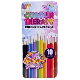 Unikornis színes ceruza 10 darabos készlet