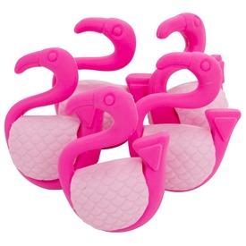 Flamingó radír 5 darabos készlet
