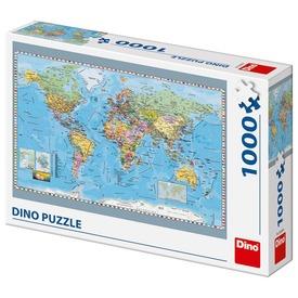 Puzzle 1000 pcs - Politikai világtérkép
