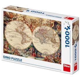 Történelmi világtérkép 1000 darabos puzzle