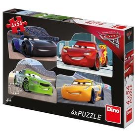 Verdák 4 x 54 darabos puzzle