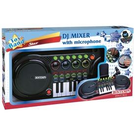 DJ keverőpult mikrofonnal