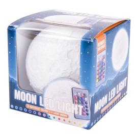 Színváltós holdlámpa távirányítóval
