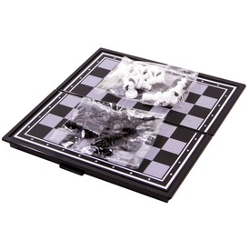 Mágneses sakk - utazós méret