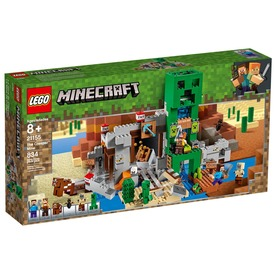 LEGO® Minecraft Creeper barlang 21155